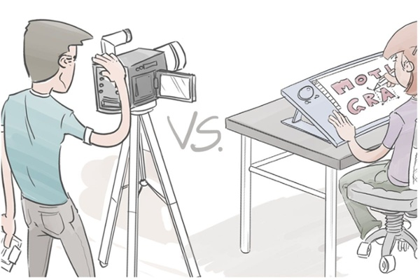 Motion Graphic vs. Live Video - Which one should I choose for my business