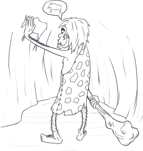 caveman-how-did-human-communication-start